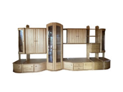 Wall Unit, Living Room, Solid Alder Wood