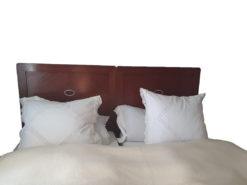 Bedroom Furniture Set, Solid Wood & Marble