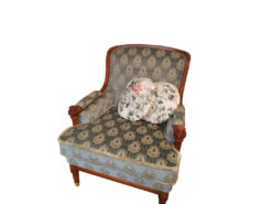 Green Upholstered Warrings Sofa Suite
