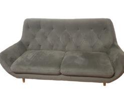 Sofa & Armchair, Grey, Living Room