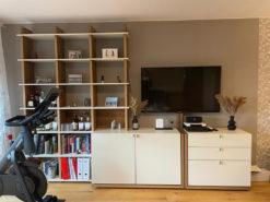 Designer Wall Unit, Shelf, Sideboard, Living Room
