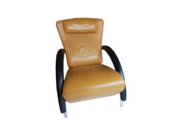 Rolf Benz, Lounger, Relaxation Armchair, Black, Yellow