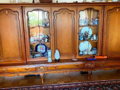 Display Cabinet, Walnut Wood, Schlingmann Wertmöbel