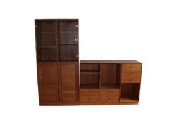 Wall Unit, Sideboard, Shelf, Vitrine, Solid Wood