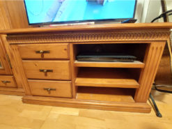 TV Cabinet, Solid Cherry Wood, Living Room