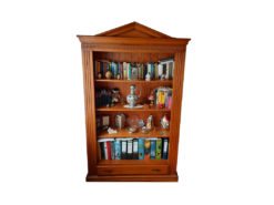 Bookcase, Solid Cherry Tree Wood, Living Room