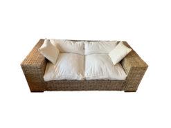 Massivum Sofa Epso 193x63x96cm Kubu Rattan