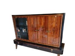 Display Cabinet, Ebony Wood, Living / Dining Room