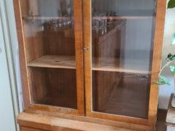 Display Cabinet, Vitrine, Art Deco, Solid Wood