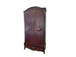 Antique Living Room Cabinet, Solid Wood