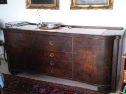Sideboard, Drawers, Solid Wood, Midcentury