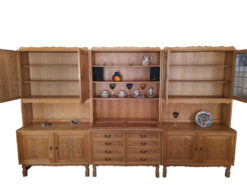 Wall Unit, Living Room, Solid Wood