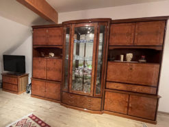 Wall Unit, Solid Wood, TV-Commode