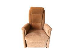 Brown Upholstered TV-Armchair, Kabs Polsterwelt